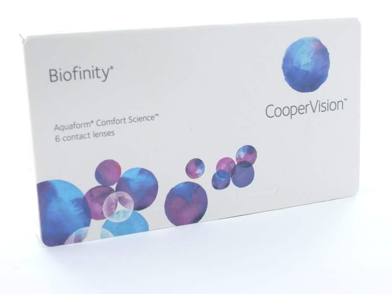 Cooper Vision Biofinity, 6er Box