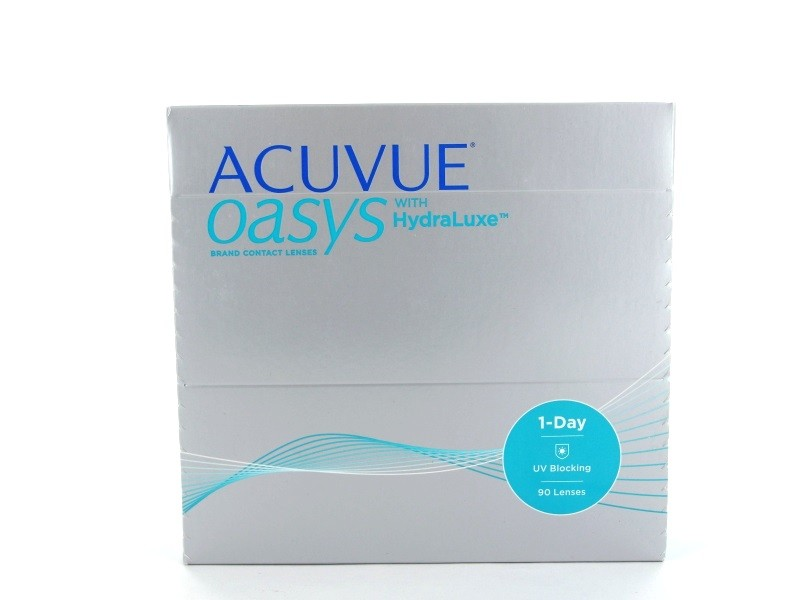 Acuvue Oasys 1 Day with HydraLuxe, 90er Box